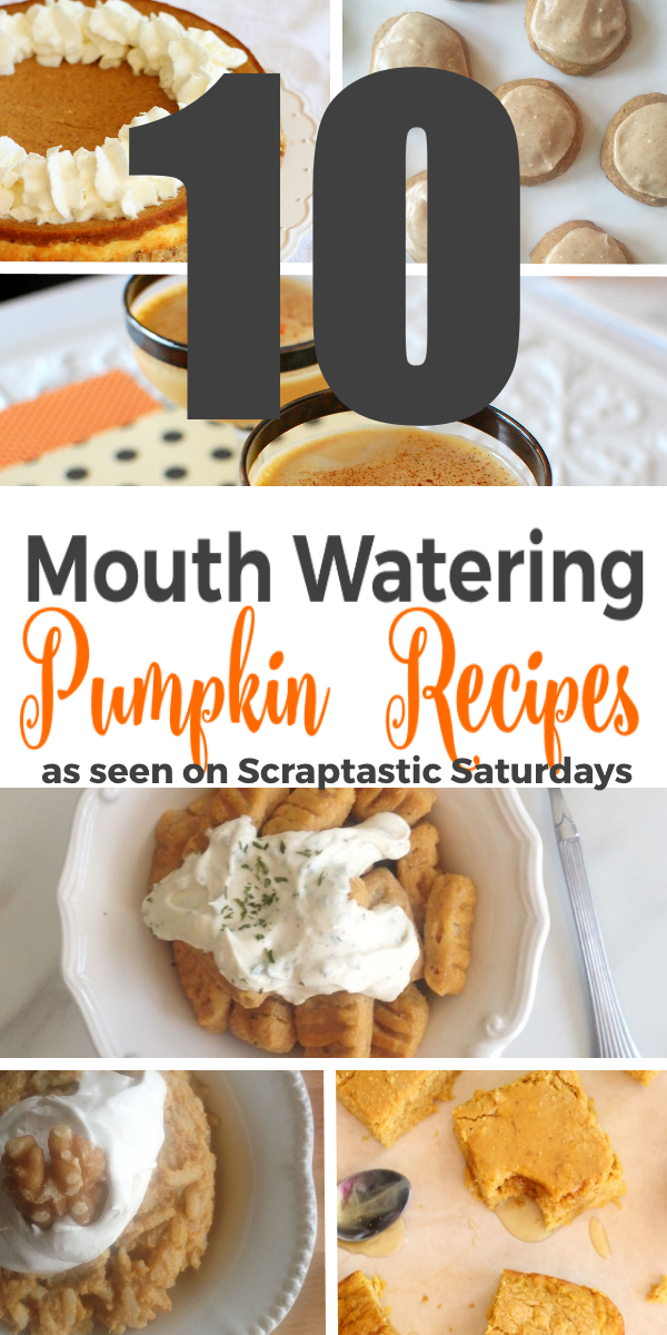 10 Mouth Watering Pumpkin Recipes