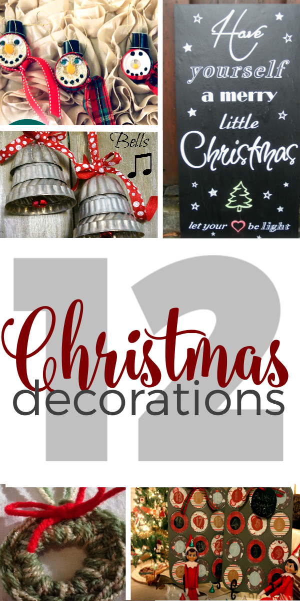 12 Christmas Decorations for the Home