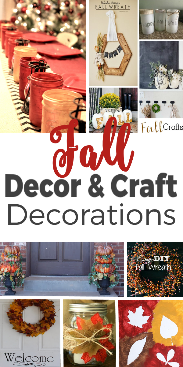 Fall Decor and Craft Creations