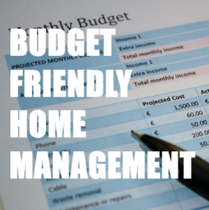 Budget Friendly Home Management
