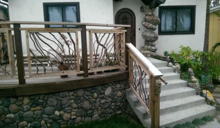 Mountain Laurel Handrailing