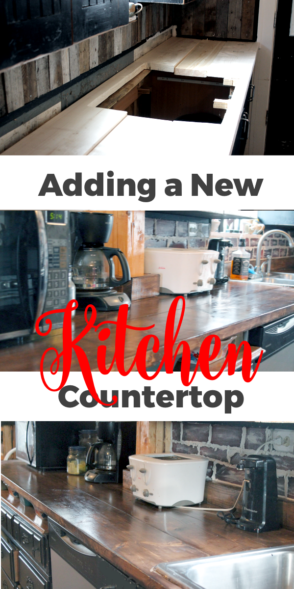 Adding a New Kitchen Countertop