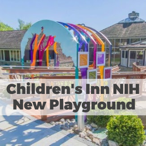 Children's Inn NIH Gets New Playground with Branch Railings