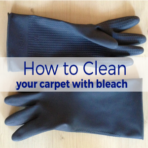 How to Clean Your Carpet with Bleach