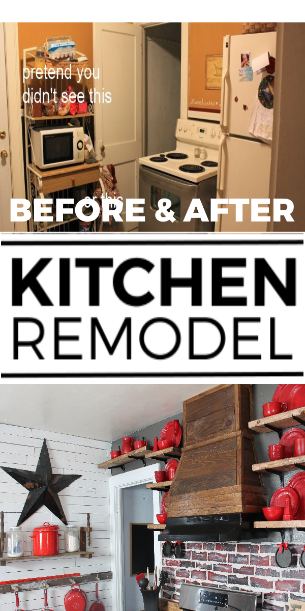 Kitchen Before and After Remodel Projects