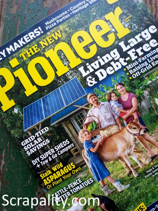 Pallet Shed Featured in The New Pioneer Magazine