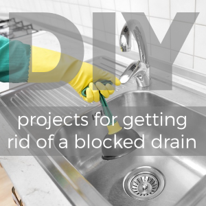 DIY projects for getting rid of a blocked drain