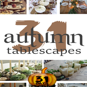 31 Autumn Tablescapes
