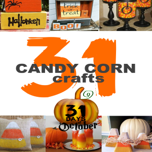31 Candy Corn Craft Ideas