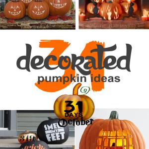 31 Decorated Pumpkin Ideas