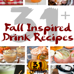 31 Fall Inspired Drink Recipes