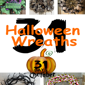 31 Halloween Wreaths