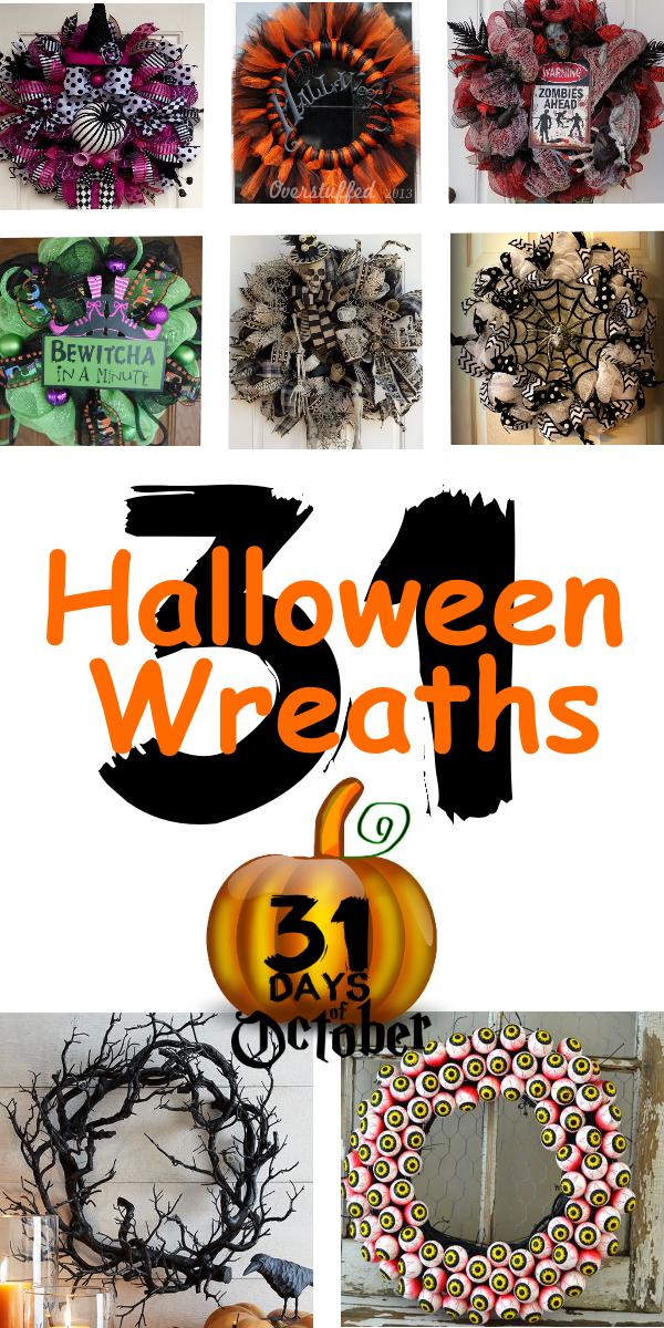 31-halloween-wreaths