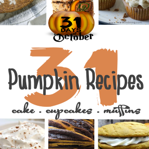 31 Pumpkin Recipes / Bread Muffins Cake