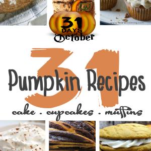 31 Pumpkin Recipes / Bread Muffins Cake