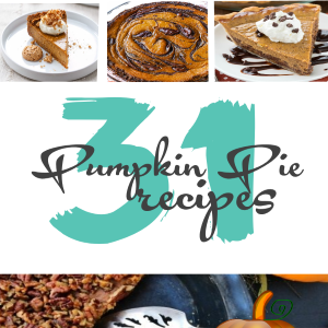 31 Tasty Pumpkin Pie Recipes