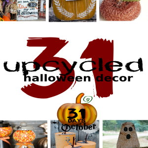 31 Upcycled Halloween Decor