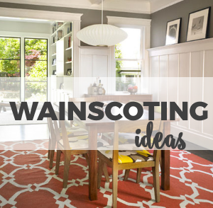 Wainscoting Ideas for the Home