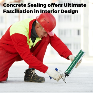 Concrete Sealing Offers Ultimate Fascination In The Interior Decoration of The House