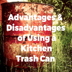 Advantages And Disadvantages Of Using Kitchen Trash Can