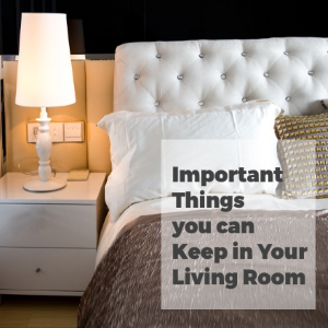 Important Things That You Can Keep in Your Living Room