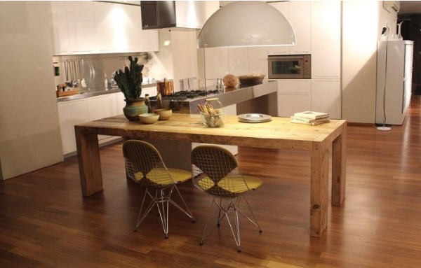 Tips To Choose Right Type Of Flooring For Your Kitchen Scrapality - 6 foot wide vinyl sheet flooring