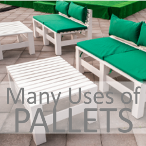 The Many Uses Of Pallets: How You Can Turn Pallets Into Perfect Pieces Of Home Treasures