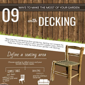 9 Ways To Make The Most of Your Garden With Decking [Infographic]