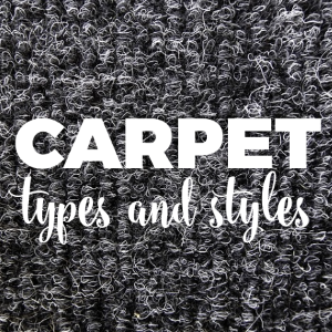 Carpet Types and Styles
