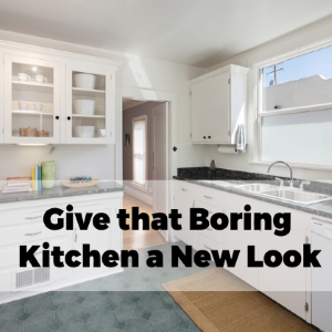 Remodel Your Boring Kitchen and Give It A New Look