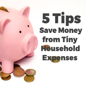5 Tips to Save Money from Tiny Household Expenses You Weren't Even Aware Of