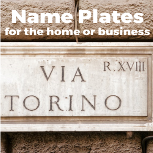 How to Choose an Optimal Name Plate For A House Or Building