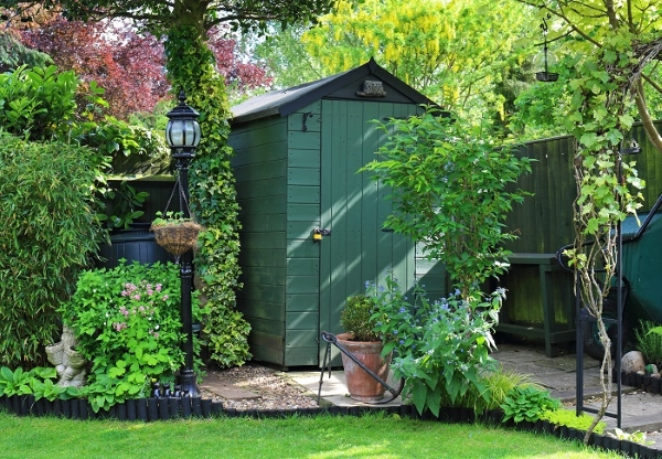Materials Used For Manufacturing A Garden Shed: