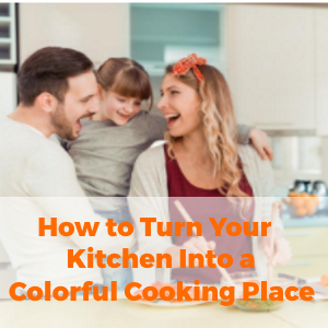 How to Turn an Old Kitchen into a Colorful Cooking Space