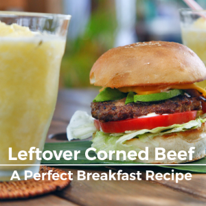 Leftover Corned Beef Sandwiches, A Perfect Breakfast Recipe!