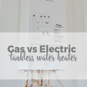 Gas Tankless Water Heater Vs. Electric Tankless Water Heater