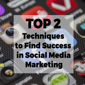 Top 2 Techniques to Find Success in Social Media Marketing