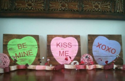 DIY Wood Gifts for Valentine's Day