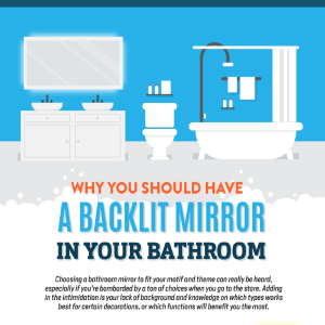 Why You Should Have a Backlit Mirror in Your Bathroom