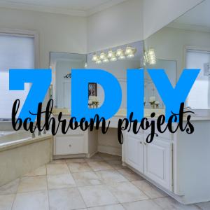 7 Bathroom Design DIY Projects