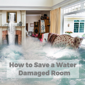How to Save a Water Damaged Room
