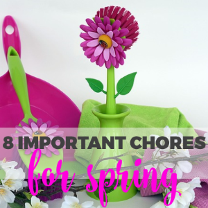 8 Important Cleaning Chores to Get Around to For Spring