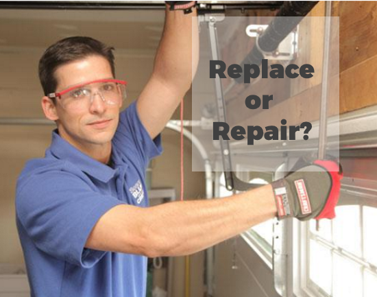 Replace or Repair your garage door