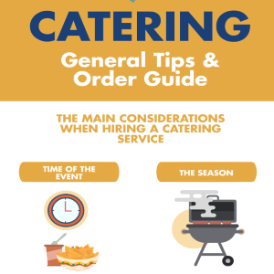Catering Tips and Ordering Guide
