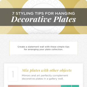 7 Styling Tips for Hanging Decorative Plates