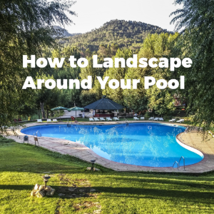 How to Landscape Around Your Pool
