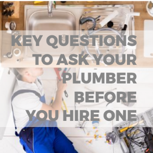 key questions to ask a plumber before hiring one