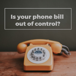 Is Your Home Phone Ringing Up A Hefty Bill Each Month?