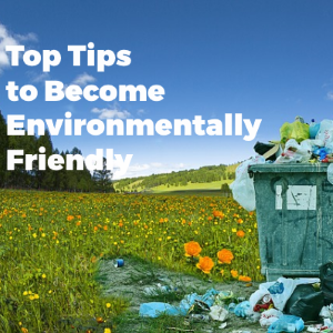 Top Tips for Becoming More Environmentally Friendly