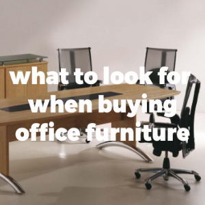 4 Questions to Ask Yourself Before Buying Office Furniture